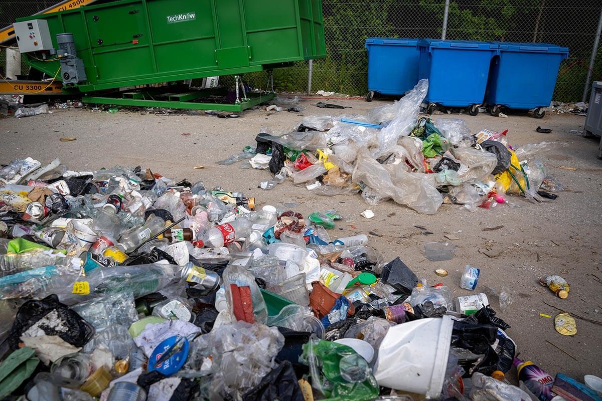 Affaldssorteringsmaskine